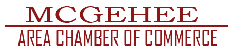 Welcome to the McGehee Chamber of Commerce Logo